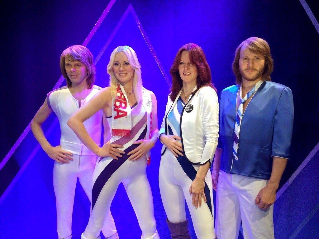 ABBA reencuentro se reunen por primera vez despues de 30 años 2016 estocolmo