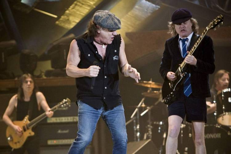 AC DC nuevo video rock the blues album rock or bust