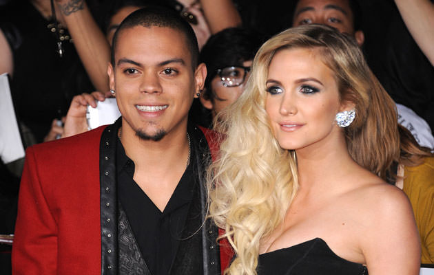 Ashlee Simpson y su esposo Evan Ross