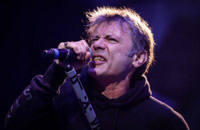 Bruce Dickinson, cantante de Iron Maiden, publicará sus memorias 2017