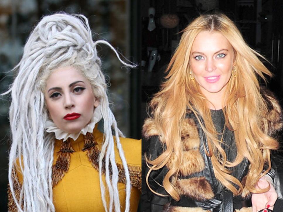 Linday-Lohan-y-Lady-Gaga