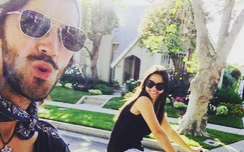 Maite Perroni enamorada de su novio chileno le dedica una cancion love