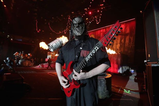 Mick Thomson de Slipknot fue apuñalado por su hermano 2015