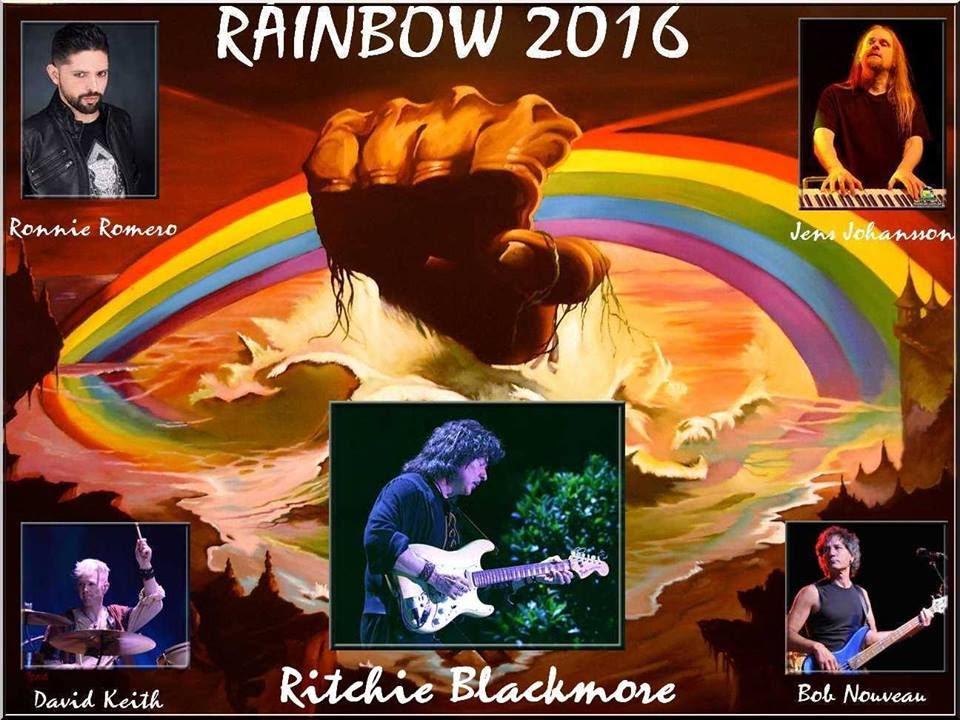 Ritchie Blackmore regresa a los escenarios por primera vez en 19 años rainbow 2016
