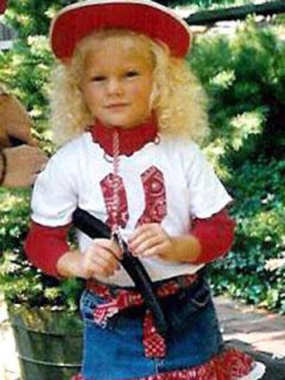 Taylor Swift de niña pequeña