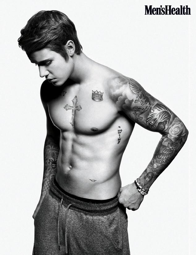 Ultimas noticias de Justin Bieber  Portada Mens Health