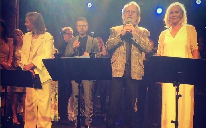 abba se reencuentran por primera vez despues de 30 años 2016