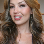 "Thalia poses for a photograph Tuesday, June 6, 2006, in New York.  Her new album ""El sexto sentido RE+LOADED"" is being released today.  (AP Photo/Tina Fineberg)"