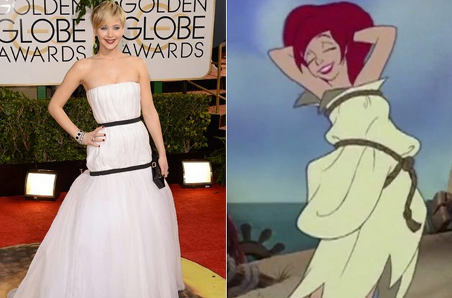 jennifer lawrence y ariel