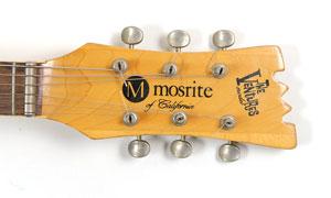 johnny ramone guitarra mosrite subasta los ramones 4