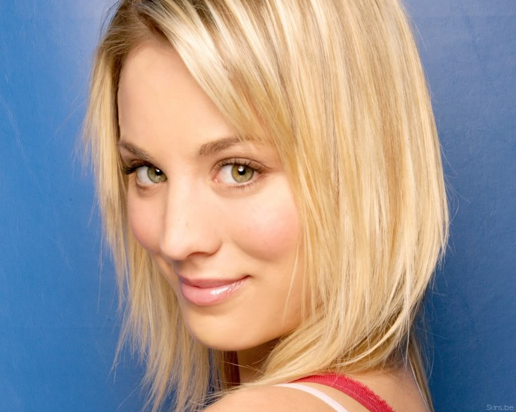 kaley-cuoco- wallpaper