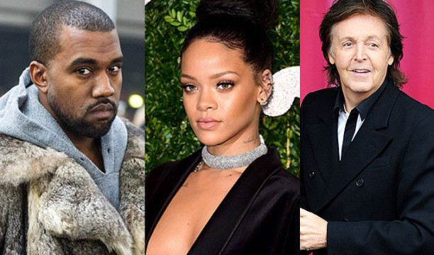 kanye-west-Rihanna - paul-mccartney nueva cancion enero 2015