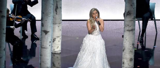 lady-gaga-oscares 2015 premios oscar 2015