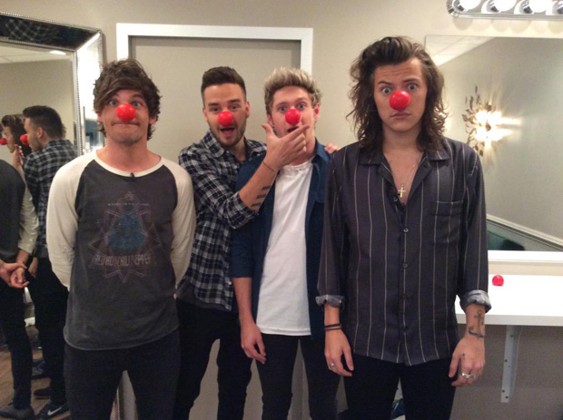 one direction red noise caridad charity