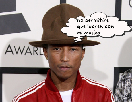 pharrell-williams y la demanda con youtube por sus videos de musica