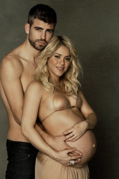 shakira y pique son padres