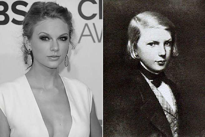 taylor swift y victor hugo