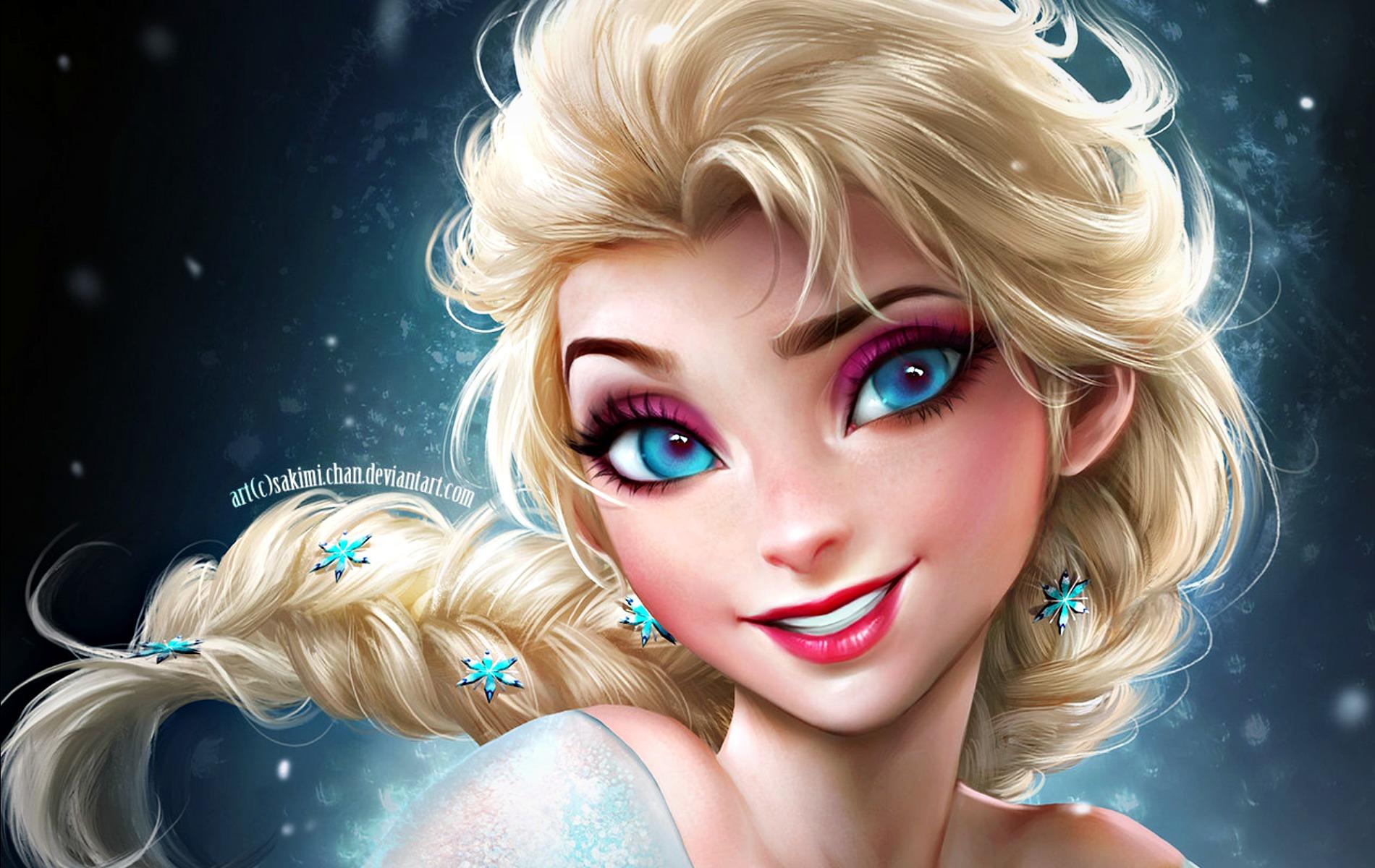 Elsa Desktop Background