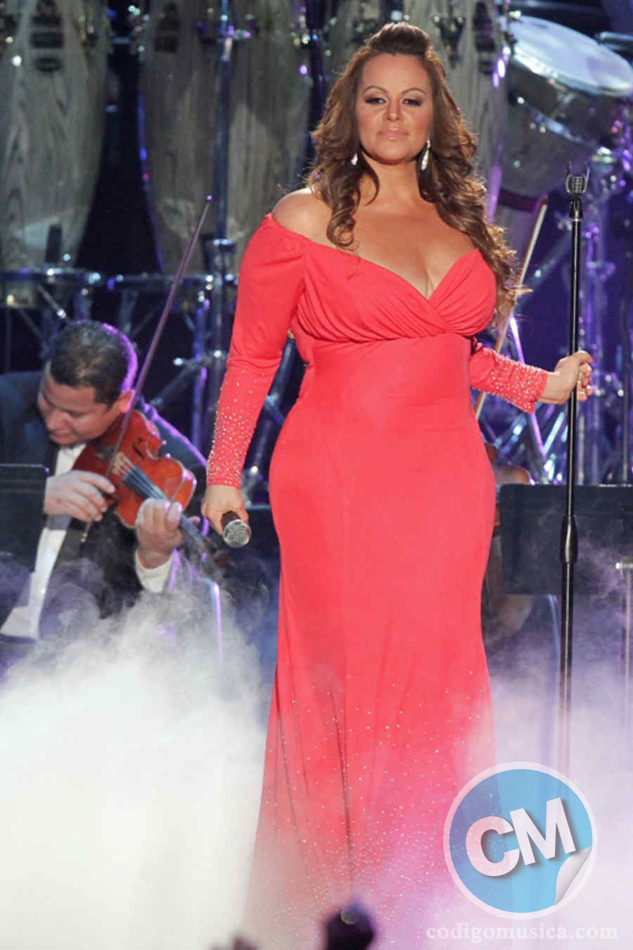 MIAMI, FL - APRIL 26: Jenni Rivera performs during Billboard Latin Music Awards 2012  at Bank United Center on April 26, 2012 in Miami, Florida. (Photo by John Parra/Getty Images)