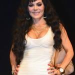 Mexico, D.F. 30/04/2014. Telon de Asfalto. Conferencia con los protagonistas de la obra Tres parejas disparejas. Maribel Guardia