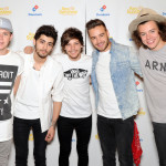 LONDON, ENGLAND - JUNE 08:  Zayn Malik, Niall Horan, Louis Tomlinson, Liam Payne and Harry Styles of One Direction pose for photographs at Wembley Arena as they made the wishes of 60 seriously ill children come true and met the children prior to performing at Wembley Stadium on June 8, 2014 in London, United Kingdom. The band are ambassadors for Rays of Sunshine, a children's charity which grants wishes for seriously ill children in the UK. www.raysofsunshine.org.uk  (Photo by Stuart C. Wilson/Getty Images for Rays of Sunshine)
