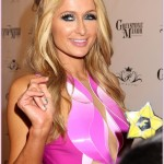 51331377 Paris Hilton (wearing an Alon Livn dress) attends her birthday party at Greystone Manor Supperclub on February 15, 2014 in West Hollywood, California. FameFlynet, Inc - Beverly Hills, CA, USA - +1 (818) 307-4813